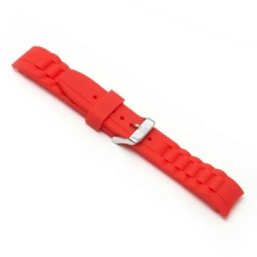 Red Silicone Watch Strap to Fit Ice Watches